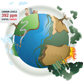 earth 392ppm