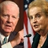 Former Secretaries of State James Baker & Madeleine Albright