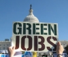 Green jobs with Capitol background