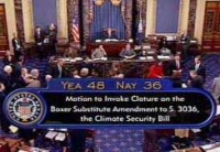 Lieberman-Warner cloture vote